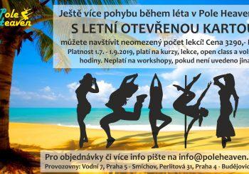 Cvičte v létě neomezeně s Letní otevřenou kartou